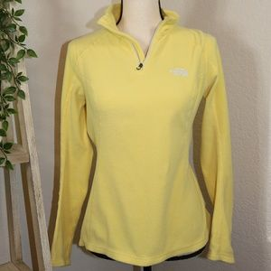 The North Face yellow sweater